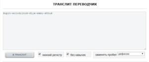 транслит сео mainspy.ru